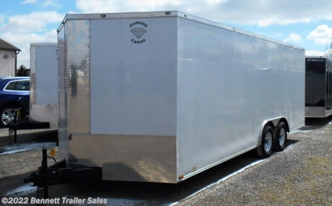 New 2018 Diamond 8.5 wide TA - 20' For Sale by Bennett Trailer Sales available in Salem, Ohio