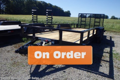 New 2021 Quality Trailers by Quality Trailers, Inc. B Tandem 18' For Sale by Bennett Trailer Sales available in Salem, Ohio