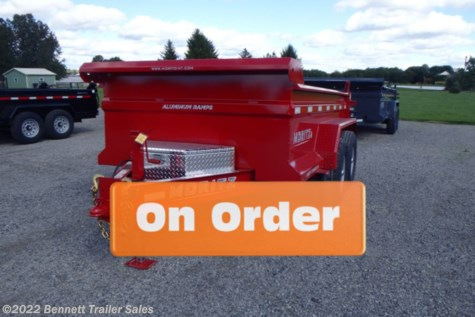 New 2021 Moritz DLBH62-10 For Sale by Bennett Trailer Sales available in Salem, Ohio
