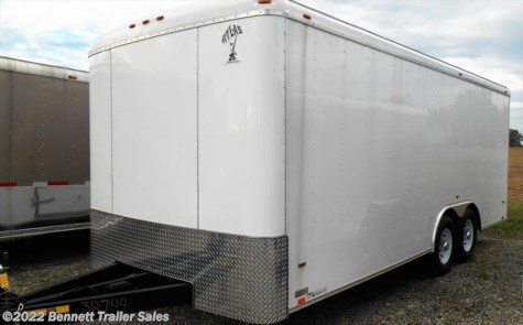 New 2018 Atlas AA8520TA4 For Sale by Bennett Trailer Sales available in Salem, Ohio