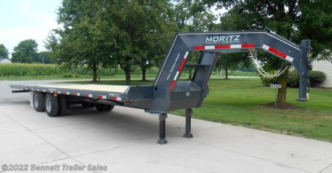 New 2019 Moritz FGSH+10-20 (10 Ton) For Sale by Bennett Trailer Sales available in Salem, Ohio