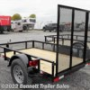 New 2019 Quality Trailers B Single 60-8 For Sale by Bennett Trailer Sales available in Salem, Ohio