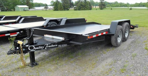 2018 Quality Trailers  DT Series 16 Pro