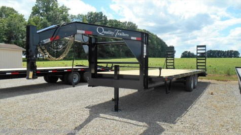 2018 Quality Trailers  G Series 20 + 4 7K