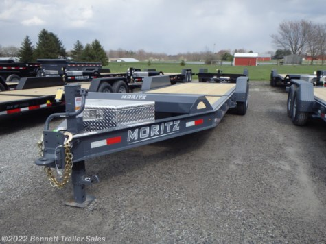 New 2020 Moritz ELBH-22 GT For Sale by Bennett Trailer Sales available in Salem, Ohio