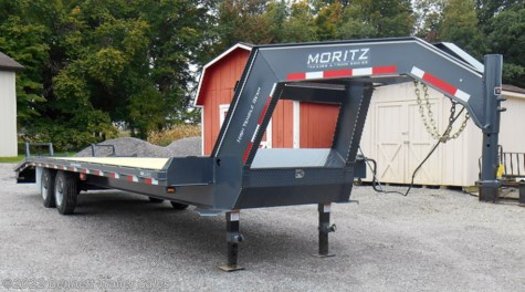 New 2019 Moritz FGSH+5-22 (8 Ton) For Sale by Bennett Trailer Sales available in Salem, Ohio