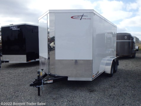 New 2020 Cross Trailers 712TA Arrow For Sale by Bennett Trailer Sales available in Salem, Ohio