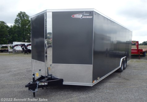 New 2020 Cross Trailers 824TA3 Arrow For Sale by Bennett Trailer Sales available in Salem, Ohio
