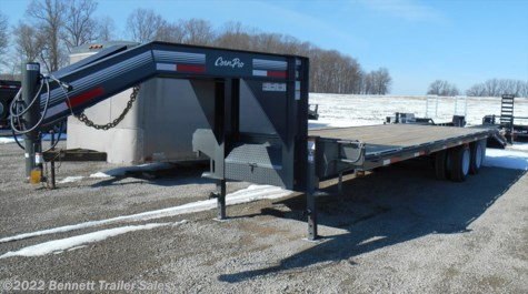 New 2018 CornPro 22 + 5  (15 Ton) For Sale by Bennett Trailer Sales available in Salem, Ohio