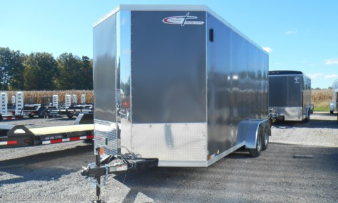 New 2019 Cross Trailers 716TA Arrow For Sale by Bennett Trailer Sales available in Salem, Ohio