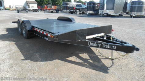 New 2019 Quality Trailers A Series 20 For Sale by Bennett Trailer Sales available in Salem, Ohio