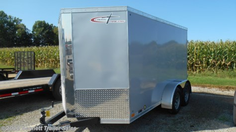 New 2019 Cross Trailers 612TA Arrow For Sale by Bennett Trailer Sales available in Salem, Ohio