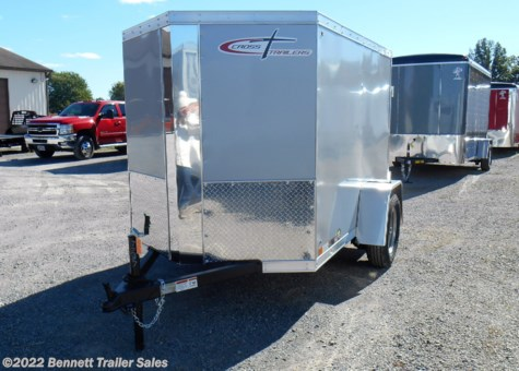New 2019 Cross Trailers 58SA Arrow For Sale by Bennett Trailer Sales available in Salem, Ohio