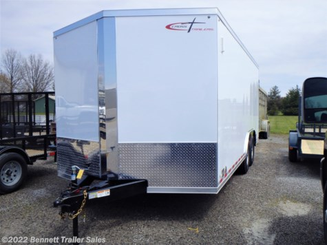 New 2021 Cross Trailers 818TA4 Arrow For Sale by Bennett Trailer Sales available in Salem, Ohio