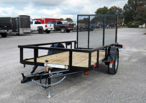 New 2019 Quality Trailers B Single 60 x 10 Pro For Sale by Bennett Trailer Sales available in Salem, Ohio
