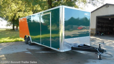 New 2019 Cross Trailers 824TA3 Flat For Sale by Bennett Trailer Sales available in Salem, Ohio