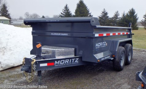 New 2019 Moritz DLBH62-10 For Sale by Bennett Trailer Sales available in Salem, Ohio