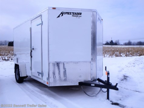 New 2019 Homesteader 712IS For Sale by Bennett Trailer Sales available in Salem, Ohio