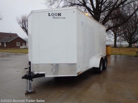 New 2020 Look LSCAB7.0X14TE2FF For Sale by Bennett Trailer Sales available in Salem, Ohio