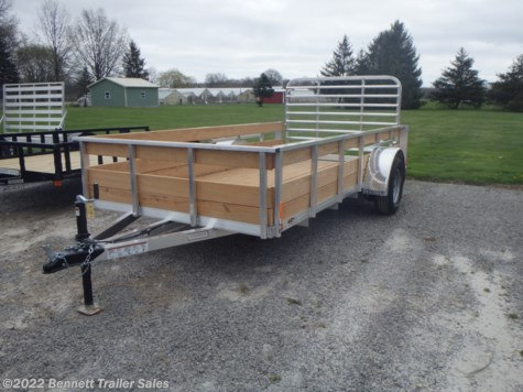 New 2019 Legend Trailers 6 X 12 Single Axle For Sale by Bennett Trailer Sales available in Salem, Ohio