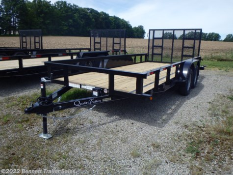 New 2020 Quality Trailers B Tandem 16' For Sale by Bennett Trailer Sales available in Salem, Ohio
