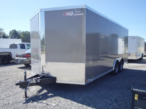 New 2020 Cross Trailers 818TA3 Arrow For Sale by Bennett Trailer Sales available in Salem, Ohio