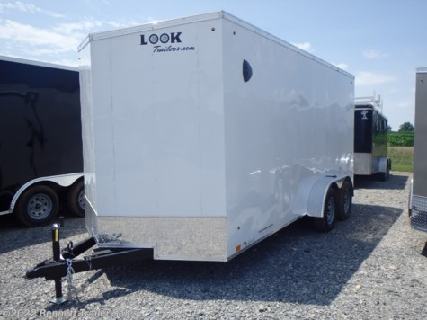 New 2021 Look LSCAB7.0X16TE2FF For Sale by Bennett Trailer Sales available in Salem, Ohio