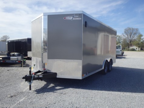 New 2021 Cross Trailers 816TA3 Arrow For Sale by Bennett Trailer Sales available in Salem, Ohio