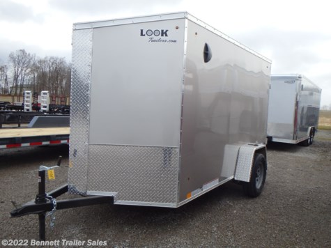 New 2021 Look EWLC6X10SI2SE For Sale by Bennett Trailer Sales available in Salem, Ohio