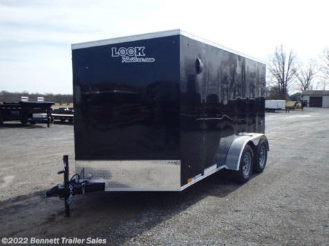 New 2021 Look LSCAB7.0X12TE2FF For Sale by Bennett Trailer Sales available in Salem, Ohio