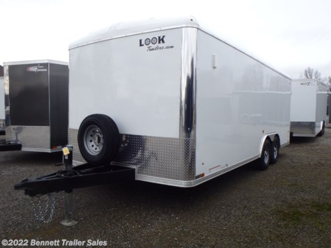 New 2020 Look ST85X20TE2DLX For Sale by Bennett Trailer Sales available in Salem, Ohio