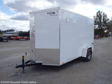 New 2020 Look EWLC6X12SI2SE For Sale by Bennett Trailer Sales available in Salem, Ohio