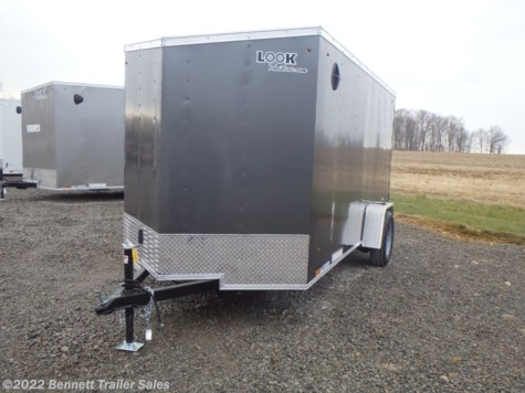 New 2021 Look LSCAB6.0X12SI2FF For Sale by Bennett Trailer Sales available in Salem, Ohio