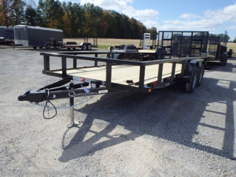 New 2020 Quality Trailers B Tandem 18' For Sale by Bennett Trailer Sales available in Salem, Ohio
