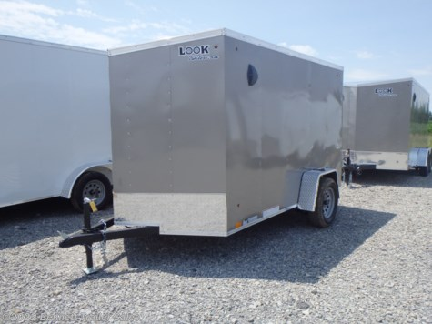 New 2021 Look LSCAB6.0X10SI2FF For Sale by Bennett Trailer Sales available in Salem, Ohio