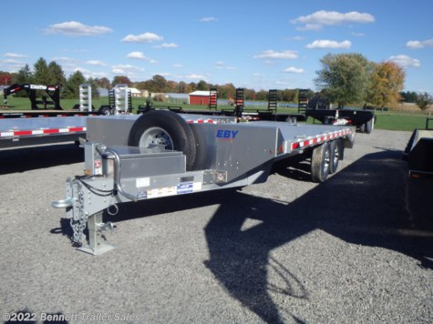 New 2020 EBY 20' Deckover (7 Ton) For Sale by Bennett Trailer Sales available in Salem, Ohio