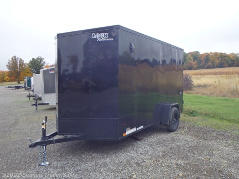 New 2021 Look LSCAC6.0X12SI2FF DLX For Sale by Bennett Trailer Sales available in Salem, Ohio