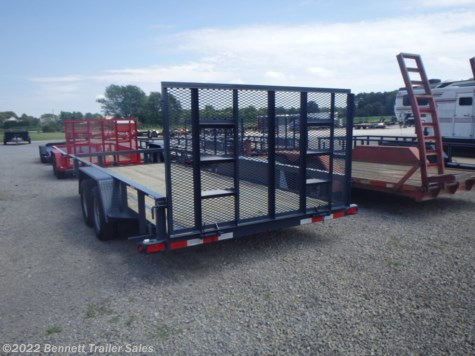 New 2021 Quality Trailers B Tandem 18' For Sale by Bennett Trailer Sales available in Salem, Ohio