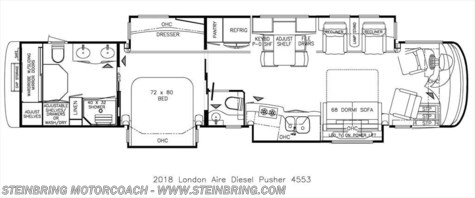 2018 Newmar London Aire  4553