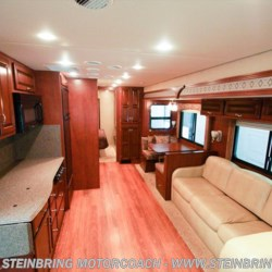 Steinbring Motorcoach 2012 Canyon Star 3920 TOY HAULER BATH AND A HALF  Toy Hauler by Newmar | Garfield, Minnesota