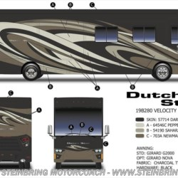 2019 Newmar Dutch Star 4369  - Diesel Pusher New  in Garfield MN For Sale by Steinbring Motorcoach call 877-880-8090 today for more info.