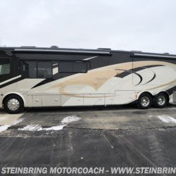 New 2009 Tiffin Allegro Bus 43QRP WITH 4 POWER SLIDEOUTS For Sale by Steinbring Motorcoach available in Garfield, Minnesota