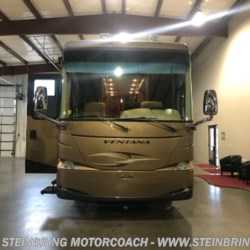 2010 Newmar Ventana 4386 WITH 4 POWER SLIDEOUTS  - Diesel Pusher Used  in Garfield MN For Sale by Steinbring Motorcoach call 877-880-8090 today for more info.