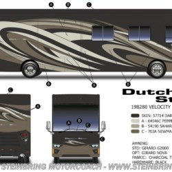 New 2019 Newmar Dutch Star 4369 BATH AND A HALF For Sale by Steinbring Motorcoach available in Garfield, Minnesota