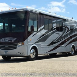 Used 2012 Newmar Canyon Star 3920  TOY HAULER For Sale by Steinbring Motorcoach available in Garfield, Minnesota