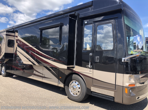 Used 2014 Newmar Mountain Aire 4369 WITH 3 POWER SLIDEOUTS For Sale by Steinbring Motorcoach available in Garfield, Minnesota