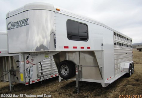 2015 Cimarron Lonestar  7' x 20' Stock w/4' Dressing Room Gooseneck