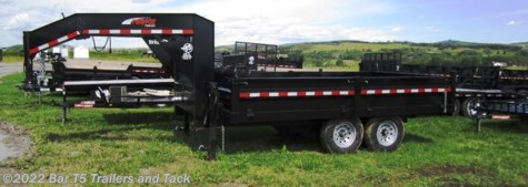 New 2014 Mirage MUDTGN716TA5 7x16 Tdm Dump GN Trailer For Sale by Bar T5 Trailers and Tack available in Millarville, Alberta