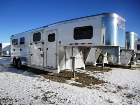 New 2017 Cimarron Norstar 2+1 VP Straight Load Gooseneck For Sale by Bar T5 Trailers and Tack available in Millarville, Alberta