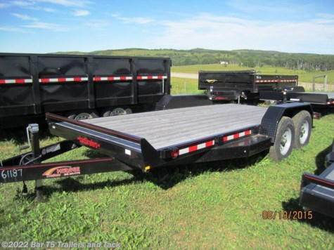 2017 Mirage  MUEQ718TA5 18' Flatdeck 7k Axles